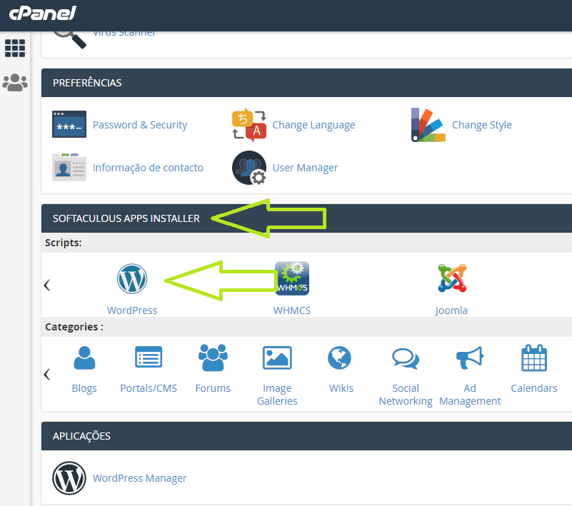 como instalar um site de WordPress manualmente